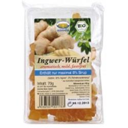 Ingwer Würfel Bio