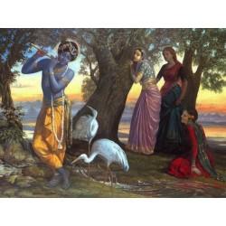 Krishna und die Gopis