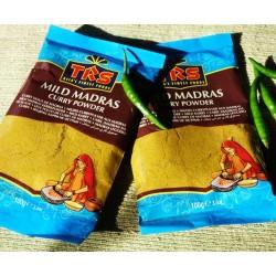 Curry Pulver Madras mild 100g