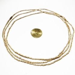 Halskette Tulsi 3fach Natur fein