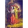 Radha-Krishnas geheimes Treffen
