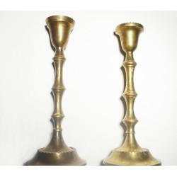 Messing Altar Kerzenleuchter 2 Stck. (Vintage)