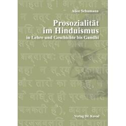 Prosozialität im Hinduismus (Alice Schumann)