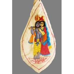 Jay Radha Krishna  Mala Bag
