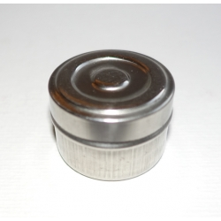 Dose klein (29 mm hoch) Edelstahl