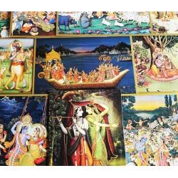 10er Briefkarten-Set mit Umschlägen