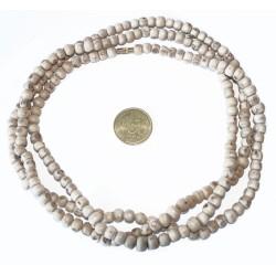 Halskette Neckbeads Tulsi 3fach groß dick (126,5cm)