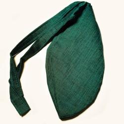 Khadi Dunkelgrün Cotton Beadbag