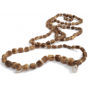 Japa Mala Tulsi BIG Neck Beads with Loop