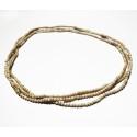 Halskette Neckbeads Tulsi 3fach Standard Medium rund