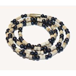 Halskette Neckbeads Tulsi 1fach, 2farbig (49 cm)