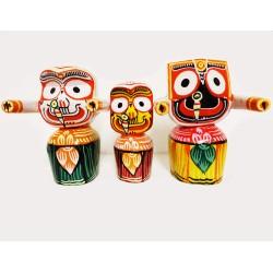Jagannath, Baladeva and Subhadra Set