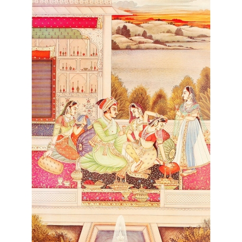 Poster aus Indien klein Nr. 4