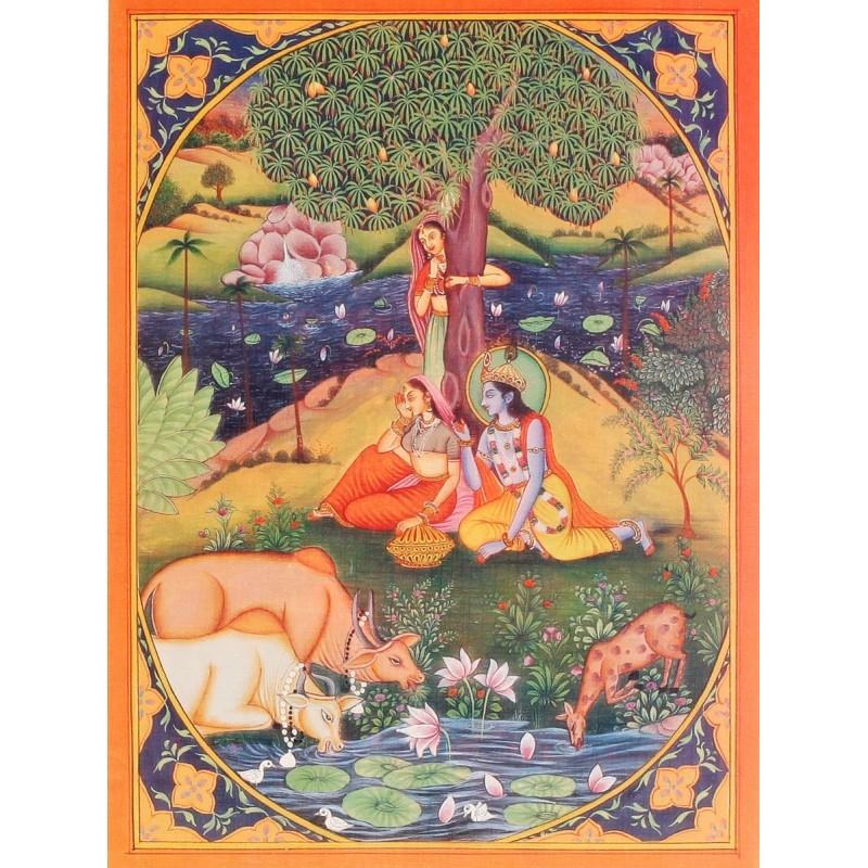 Poster aus Indien klein Nr. 8