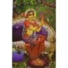 Vrindavan (Kunstbriefkarte groß) Nr. 1