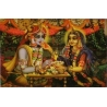 Vrindavan (Kunstbriefkarte groß) Nr. 3