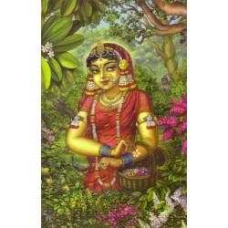 Vrindavan (Kunstbriefkarte groß) Nr. 7