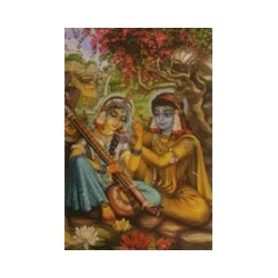 Vrindavan (Kunstbriefkarte groß) Nr. 8